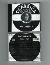 TINY GRIMES 1944-49 CLASSICS CD NEW SEALED LONG OUT OF PRINT