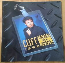 Cliff Richard Access All Areas 1992 tour programme