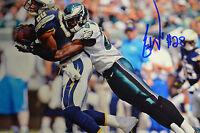 Earl Wolf signed 8x10 photo Philadelphia Eagles 2coa's LIFETIME COA