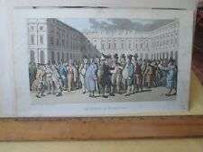 Vintage Print,DR AT LIVERPOOL,Tour of Dr Syntax