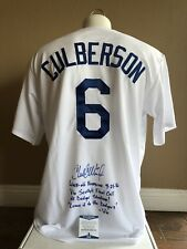 Charlie Culberson Hand Signed Autograph Jersey Vin's Last Call Stats! Beckett