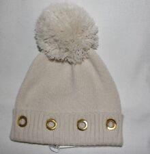 f4f7b962a91 Steve Madden cold weather Block Party sock ski hat Color Cream