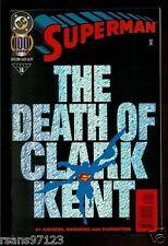 SUPERMAN THE DEATH OF CLARK KENT DC 1995 NO. #18