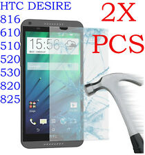 2X Tempered Glass Film Screen Protector for HTC Desire 816 610 510 520 530 825