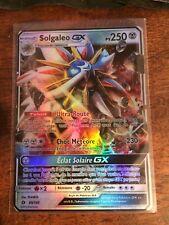 READ DESCRIPTION Carte Pokemon SOLGALEO Holo GX Française Soleil et Lune 1 SL1