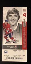 2010 Montreal Canadiens SERGE SAVARD JAROSLAV SPACEK Playoffs Ticket photo stub