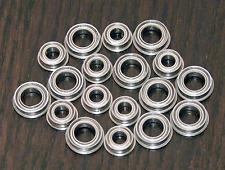 (18pcs) KYOSHO PROGRESS 4WDS Metal Sealed Ball Bearing Set