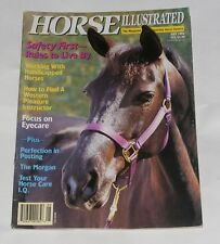 HORSE ILLUSTRATED MAY 1992 - WORKING WITH HANDICAPPED HORSES/THE MORGAN
