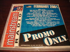 PROMO ONLY MAINSTREAM RADIO CD FEBRUARY 2001 NEW WHITNEY HOUSTON