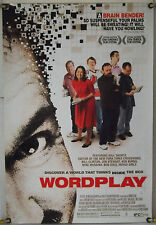 WORD PLAY DS ROLLED ORIG 1SH MOVIE POSTER NY TIMES CROSSWORD PUZZLE DOCU (2006)