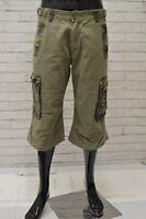 Bermuda YELL Uomo Taglia Size 34 Pantaloncino Shorts Pantalone Pants Man Cargo