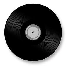 "Pin Button Badge Ø25mm 1"" Disque Vinyl 45 Tours DJ"
