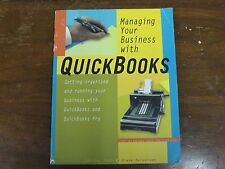 Managing Your Business With Quickbooks Peachpit Press Rubin & Parssinen 1997