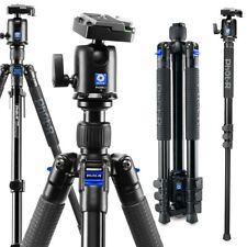 Phot R Camera Video 155cm Tripod - Black