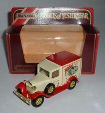 Matchbox Ford Vintage Manufacture Diecast Vans