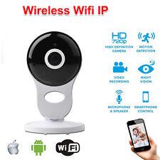 IP Kamera 720P HD Überwachung Wireless WIFI Nachtsicht Webcam Wlan Netzwerk #a