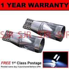 W5W T10 501 CANBUS ERROR FREE XENON WHITE 360 3 CREE LAMPADINE LUCI LATERALI X2