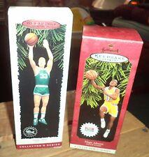 Hallmark keepsake ornament two basketball players ornaments
