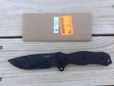 Busse Combar Knife Badger Attack BATAC Black Multicam Cerakote Finish