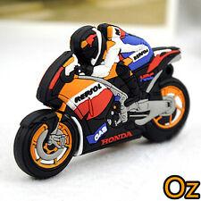 Motorcycle Rider USB Stick, 32GB Motorbike Quality USB Flash Drives weirdland