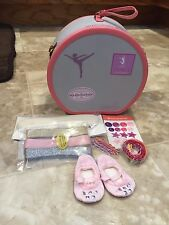 NIB American Girl Isabelle Dance Case Hair Shoes Stickers GTY