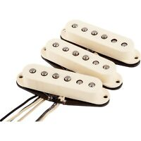 Fender American Vintage Stratocaster Original 57/62 Guitar Pickup Set in White