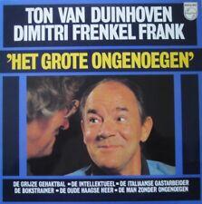 TON VAN DUINHOVEN EN DIMITRI FRENKEL FRANK - HET GROTE ONGENOEGEN  - LP
