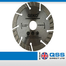 Angle Grinder Diamond Blade 115x22.2 1300 RMP Concrete, Ceramic, Bricks, Tiles