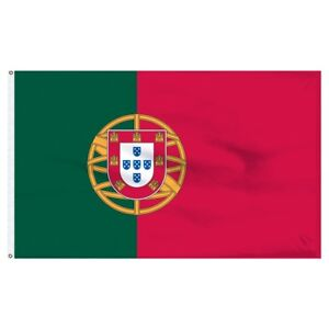 5x8 ft Portugal Portuguese Flag Rough Tex Knitted 5'x8' Banner
