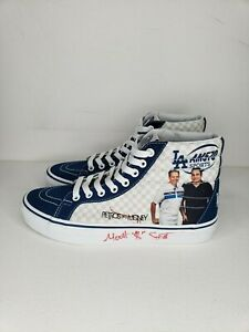 Vans Sk8 HI Petros and Money L.A. Dodgers Women Size 8 Autographed