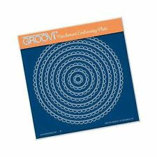 Nested Scallop Circles - Groovi A5 Square Plate