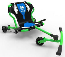 EzyRoller Drifter Pro X Kids 3 Wheel Ride On Ultimate Riding Machine Green NEW