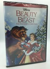 Beauty and the Beast: The Enchanted Christmas (DVD, 2016) NEW