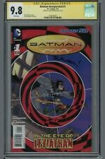 Batman Incorporated #1 CGC 9.8 Chris Burnham Signature Series (W)