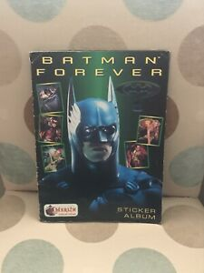 Merlin Batman Forever Sticker Album Complete VGC