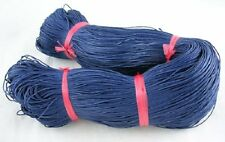 86 Metres Indigo Cotton Waxed Cord Jewellery Craft Findings - 1mm - LB1421