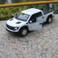 Blanche Ford F-150 SVT Voiture  Alliage Miniatures 1:32  Véhicules modèle