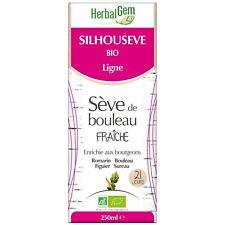 HERBALGEM SILHOUSEVE BIO LIGNE SEVE DE BOULEAU FRAICHE 250 ML