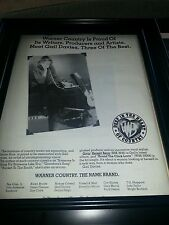 Gail Davies Givin' Herself Away Rare Promo Poster Ad Framed!