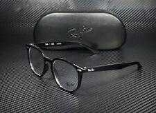 RAY BAN RX7151 2000 Black Demo Lens 52 mm Unisex Eyeglasses