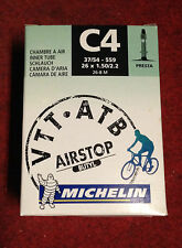 Camera d'aria bici Mountain bike Michelin C4 Airstop Butyl inner tube 26x1.50 2.