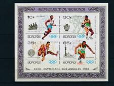 [314539] Burundi 1985 good sheet Imperf very fine MNH Value 35$