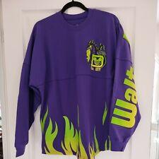 More details for   2021 walt disney world maleficent purple  dragon flames spirit jersey size m