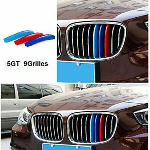 BizTech® Clip In Grill inserts Stripes For BMW 5 Series GT 10-16 F07 M Power