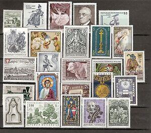Österreich 1967 Kompletter Jahrgang Postfrisch ** MNH