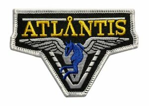 Stargate Atlantis TV Show Embroidered Patch (Iron on sew on-3.5 x 2.5)