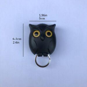 Bird Shape Wall Mount Key Holder Innovative Key Hook Door Hanger Night Owl