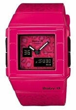LIQUIDATION SALE!  Discontinued Collectors Pink Leopard Pattern Baby-G Watch