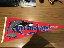 Niagara Falls Marineland Vintage Pennant
