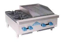 Comstock Castle Fhp30 15lb Countertop Gas Charbroiler Hotplate